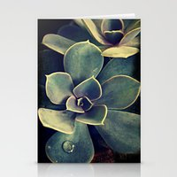 succulent Stationery Cards featuring Succulent by KunstFabrik_StaticMovement Manu Jobst