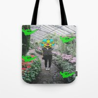 botanical Tote Bags featuring botanical  by Mike McDonnell
