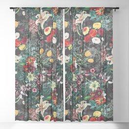 Summer Botanical Garden XII Sheer Curtain