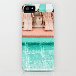 Poolside 1 iPhone Case