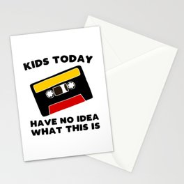 Audio Cassette Tape Stationery Cards