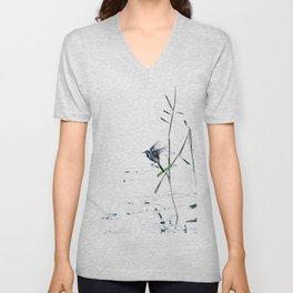 Little Bird (Wagtail - Eurasian Songbird) by The Reeds #decor #society6 #buyart Unisex V-Neck