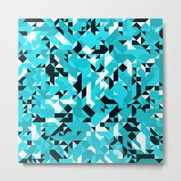 Off-Beat Geometric Shapes V.15 Metal Print