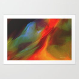 IN THE HEAT OF THE NIGHT Art Print