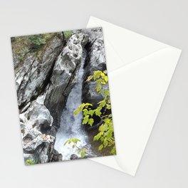 Falls at Huntington Gorge, VT Stationery Cards