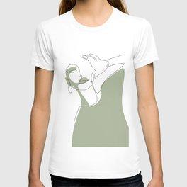 Olive Selfie T-shirt