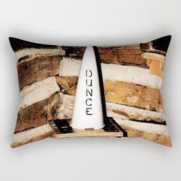 Dunce Rectangular Pillow