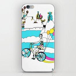 PING PONG SPRING iPhone Skin