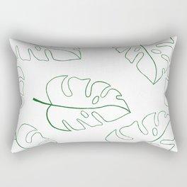 Leafs Rectangular Pillow