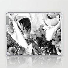 Twist Of Heart - White Laptop & iPad Skin