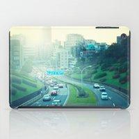 tokyo iPad Cases featuring Tokyo by Xavier Arnau