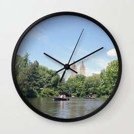 Central Park Lake Wall Clock