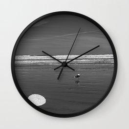 Pacific Ocean Sand Dollar Wall Clock