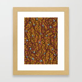 the singing forest Framed Art Print