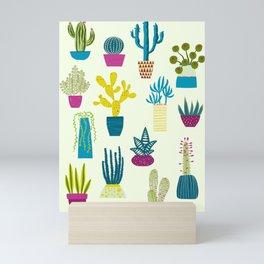 Cactus Garden Mini Art Print