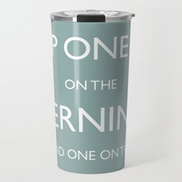 Keep One Eye On The Clock Travel Mug