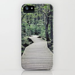 Boardwalk with natural arch iPhone Case
