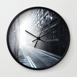 Inner City Blues Wall Clock