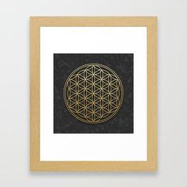 The Flower of Life Framed Art Print