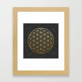 The Flower of Life Framed Art Print