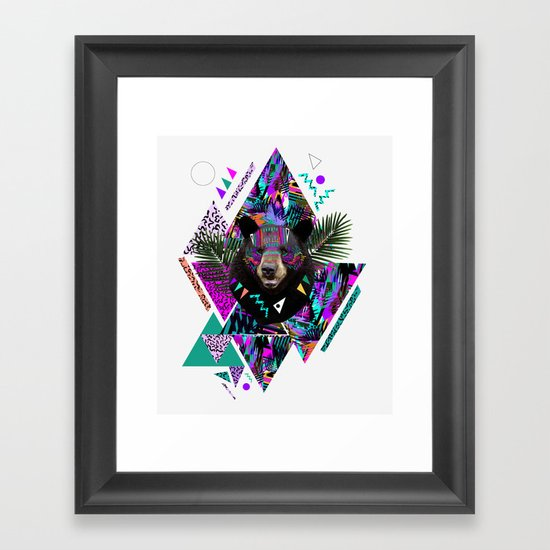 KAHOOLAWE Framed Art Print