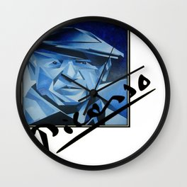 Picasso's Signature  Wall Clock