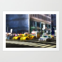 New York Street Art Art Print