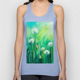 The color of summer Unisex Tank Top