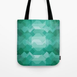 Emerald gem stone Tote Bag