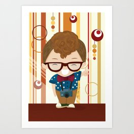 hipster style 2 Art Print