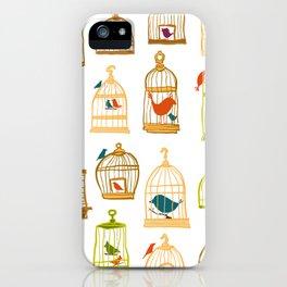 Bird Cages iPhone Case