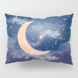 Nerdy Space Pillow Sham
