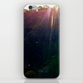 Whimsical Blue Mountains iPhone Skin