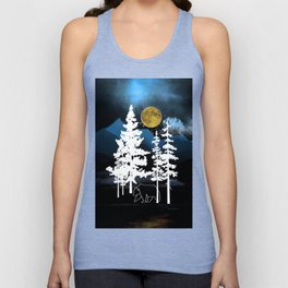Full Moon Rising II Unisex Tank Top