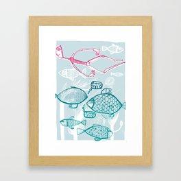 dream me Framed Art Print