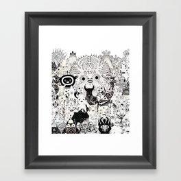 Skool Daze ii Framed Art Print