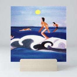 THe Big Wave                            by Kay Lipton Mini Art Print