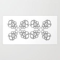 Honeycombs 2 Art Print