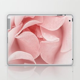 Pink flora Rose Bud- Roses and flowers Laptop & iPad Skin