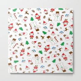 Christmas Santa Claus Metal Print