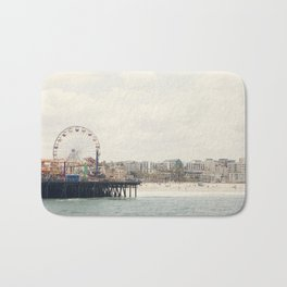 Santa Monica Pier. Happy Birthday Pacific Park!  Bath Mat