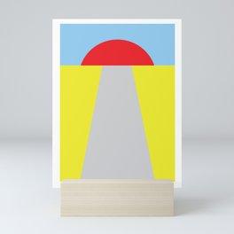Route Mini Art Print