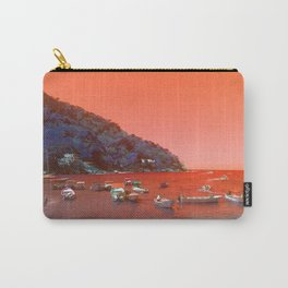 """""""Yelapa, Mexico Vintage Travel Photography"""" Carry-All Pouch"""