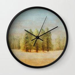 Take A Stand Wall Clock