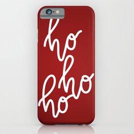 HoHoHo Merry Christmas iPhone Case