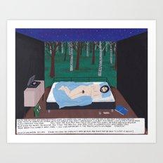 The Rabbit Hole (Matrix) Art Print