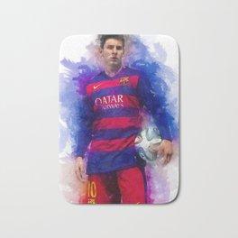 Lionel Messi Bath Mat