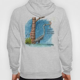 Mississippi Great Blue Heron Hoody