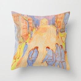Bustle Throw Pillow