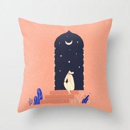 Oriental tales Throw Pillow